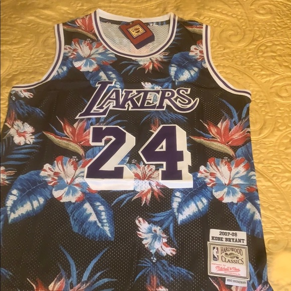 Kobe Bryant 07-08 Floral Jersey Exclusive